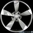 AU510+18%26quot%3B+GunMetal+Machined+Face+ET35+Wheels+Set